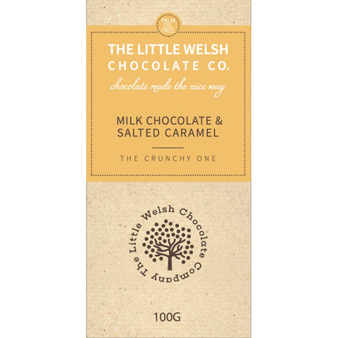 Chocolate - The Little Welsh Chocolate Company - Anglesey Salt & Caramel
