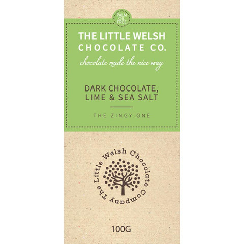 Chocolate - The Little Welsh Chocolate Company - Anglesey Salt & Lime