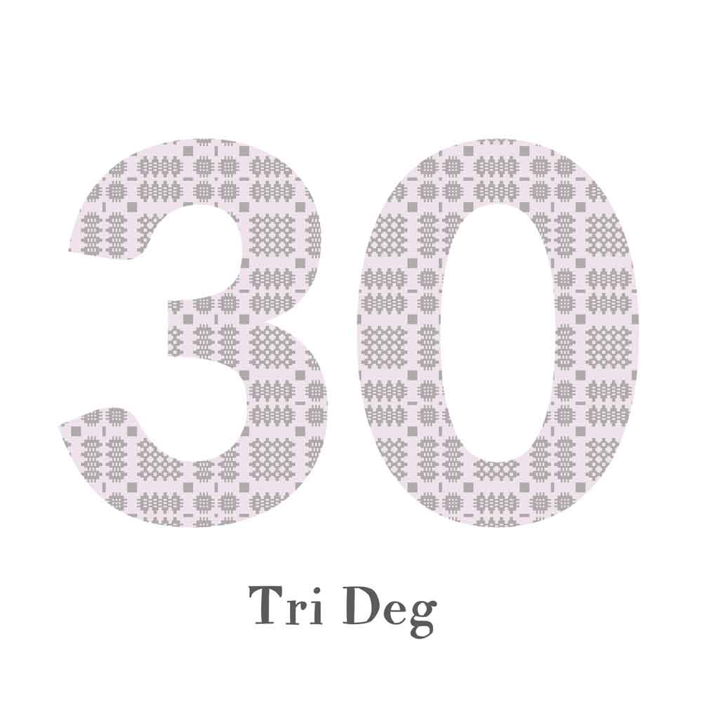 Card - Birthday / Anniversary - Tri Deg - 30