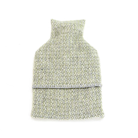Hot Water Bottle - New Wool - Green Grey