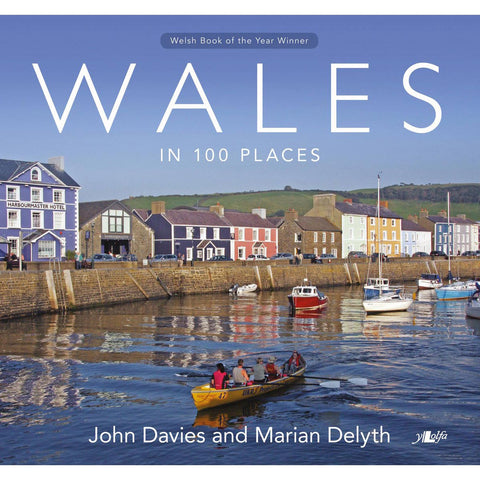 Wales in 100 Places - Visitors Book-Book-The Welsh Gift Shop