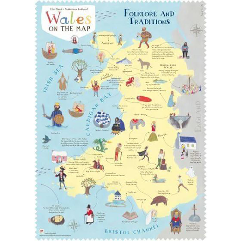 Poster - Wales on the Map: Folklore and Traditions