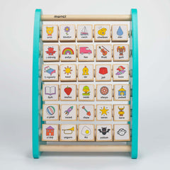Alphabet Abacus - Wooden - Welsh Language-The Welsh Gift Shop