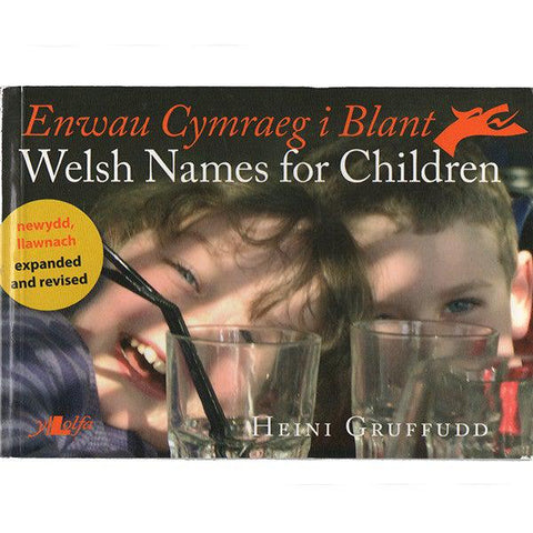 Welsh Names for Children - Enwau Cymraeg i Blant-Book-The Welsh Gift Shop