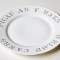 Side Plate - Welsh Cakes / Picau ar y Maen-Kitchen-The Welsh Gift Shop