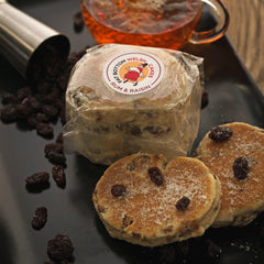 Welsh Cakes - Fat Bottom - Rum and Raisin (1st Class Postage Included)