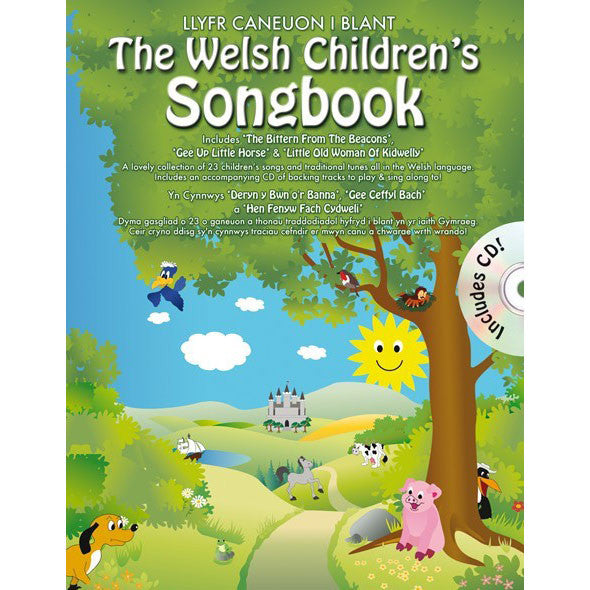 The Welsh Children's Songbook - Book & CD
