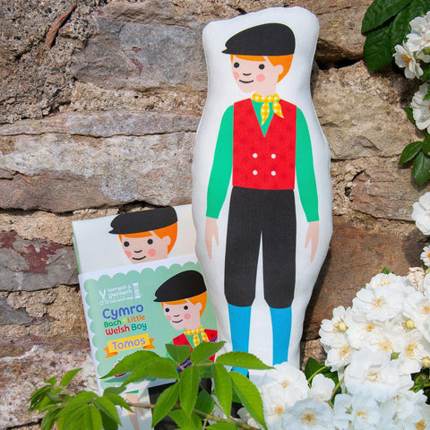 Welsh Doll - Cut and Sew - Little Welsh Boy - Tomos