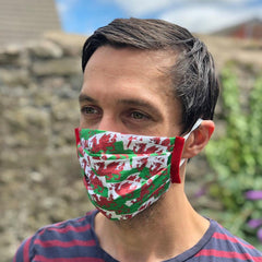 Face Mask - Welsh Dragon Flag