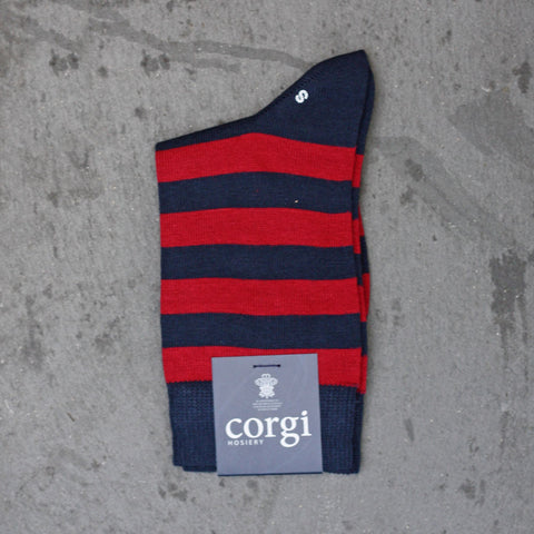 Corgi Socks - Welsh Guards - Childrens-socks-The Welsh Gift Shop