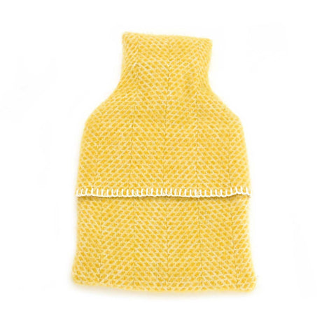 Hot Water Bottle - Luxury New Wool - Beehive Yellow