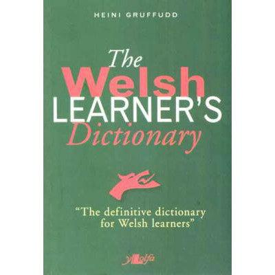 The Welsh Learner's Dictionary-Book-The Welsh Gift Shop