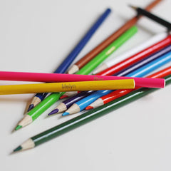 Colouring Pencils Set - Welsh Colour Names-stationery-The Welsh Gift Shop
