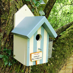 Bird House - Handmade in Wales - Personalised-Bird House-The Welsh Gift Shop