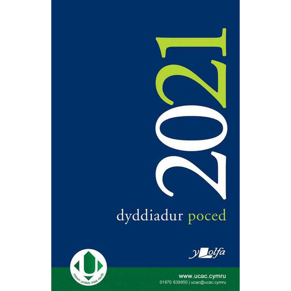 Pocket Diary / Dyddiadur Poced - 2021 – The Welsh Gift Shop
