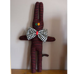 Welsh Rarebit Rabbit - Welsh Flannel - Handmade