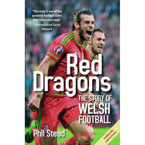 Red Dragons: The Story of Welsh Football-Book-The Welsh Gift Shop