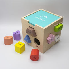 Shape Sorter - Wooden - Welsh Language