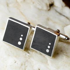 Cufflinks - Welsh Slate - 'Rhys'