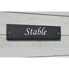 House Name - Welsh Slate - Handcrafted-The Welsh Gift Shop