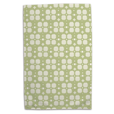 Tea Towel - Welsh Tapestry - Green
