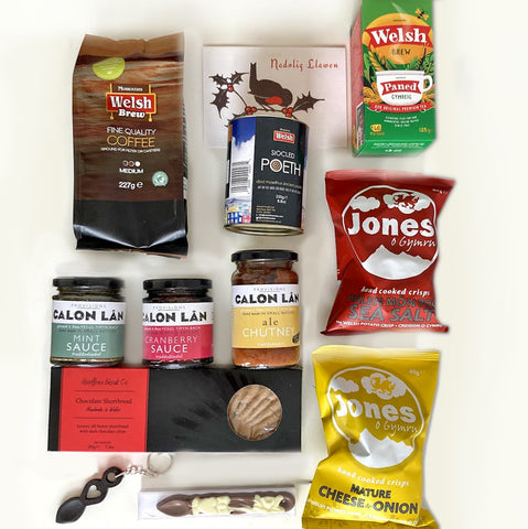 Welsh Christmas Hamper - Welsh Treats