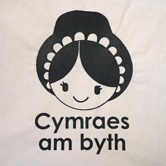 Bag / Tote - Cymraes am Byth - Welsh Lady Forever-Bag-The Welsh Gift Shop