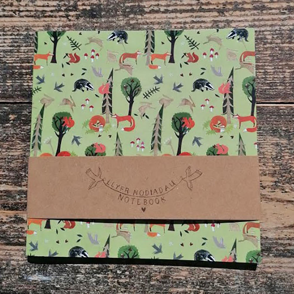 Notebook - Childrens - Blank - Woodland