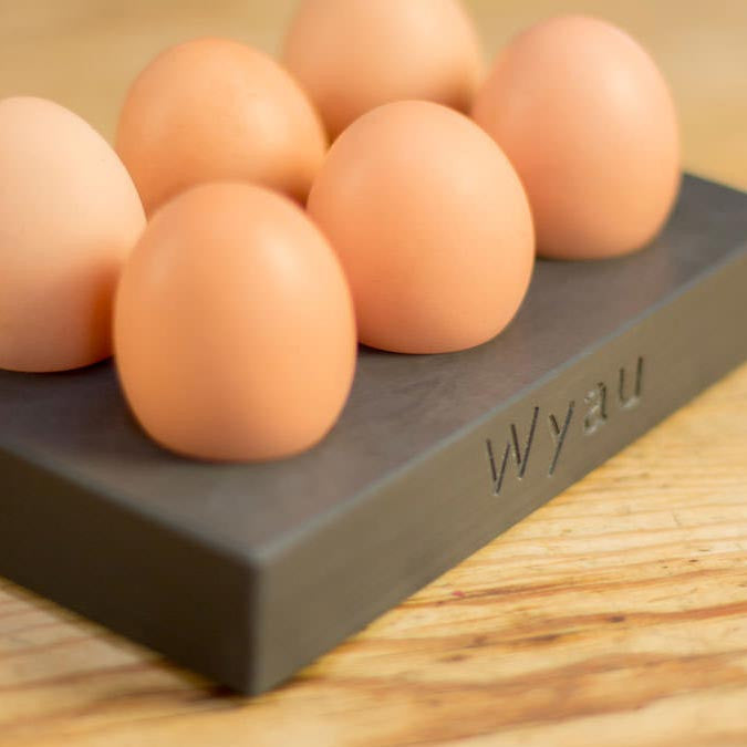 Egg Tray - Welsh Slate - Wyau / Eggs-Accessory-The Welsh Gift Shop