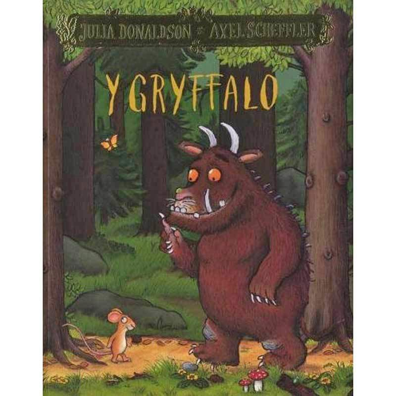 Y Gryffalo - The Gruffalo - Welsh Version-The Welsh Gift Shop