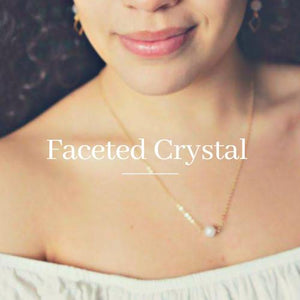 Faceted Crystal Healing Necklaces