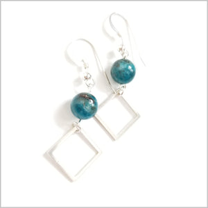 Square Apatite Dangle
