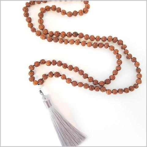 108 Bead Traditional Rudraksha Mala
