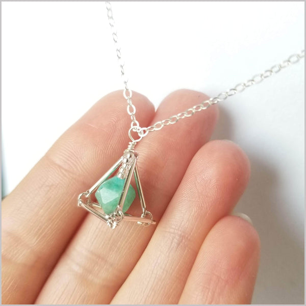 Geometric Amazonite Crystal