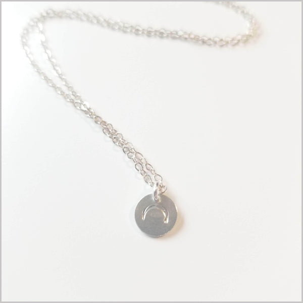 Live Free Crescent Moon Necklace