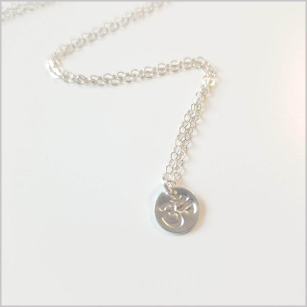 Live Free Om Necklace