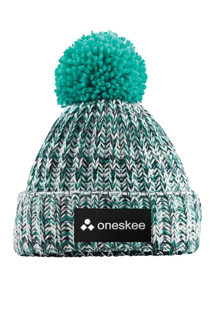 Bobble Hat - Mint / Black