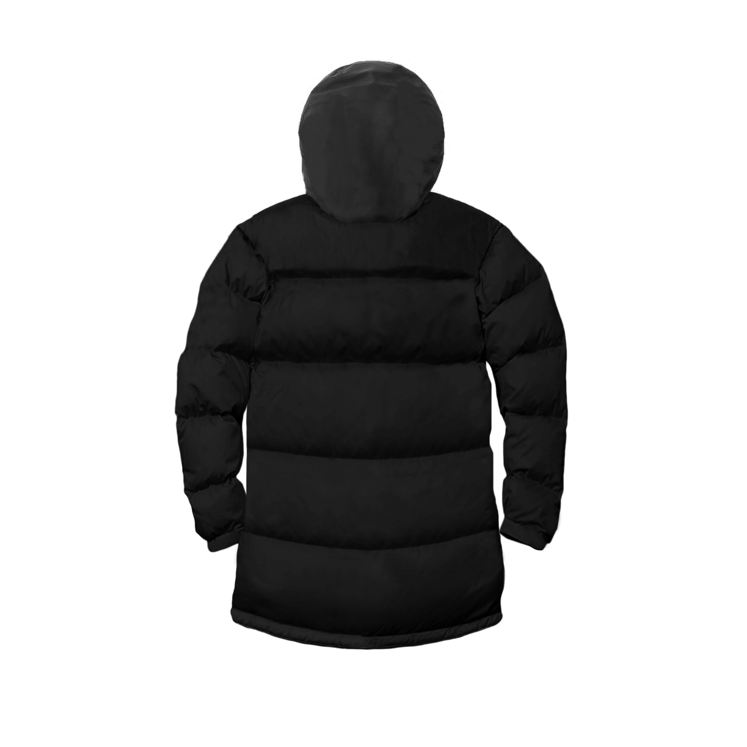 Technical Puffer Jacket - Black image 8