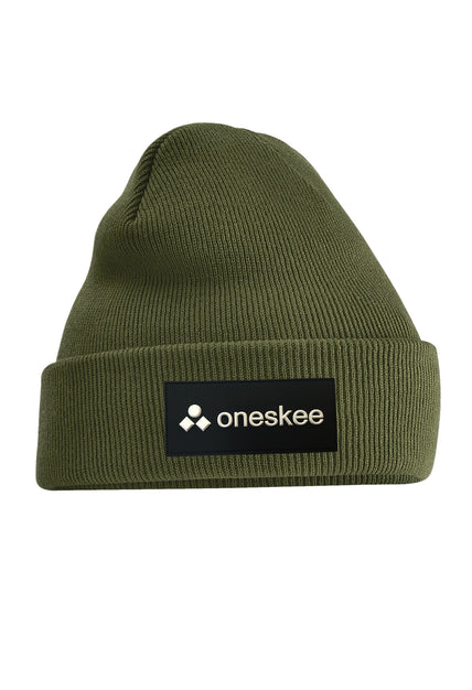 Patch Beanie - Olive