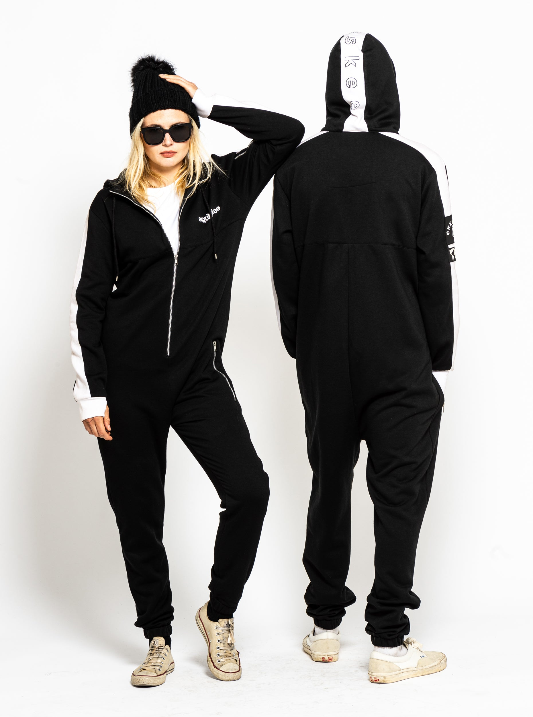 Apreskee One Piece Jumpsuit - Black image 3