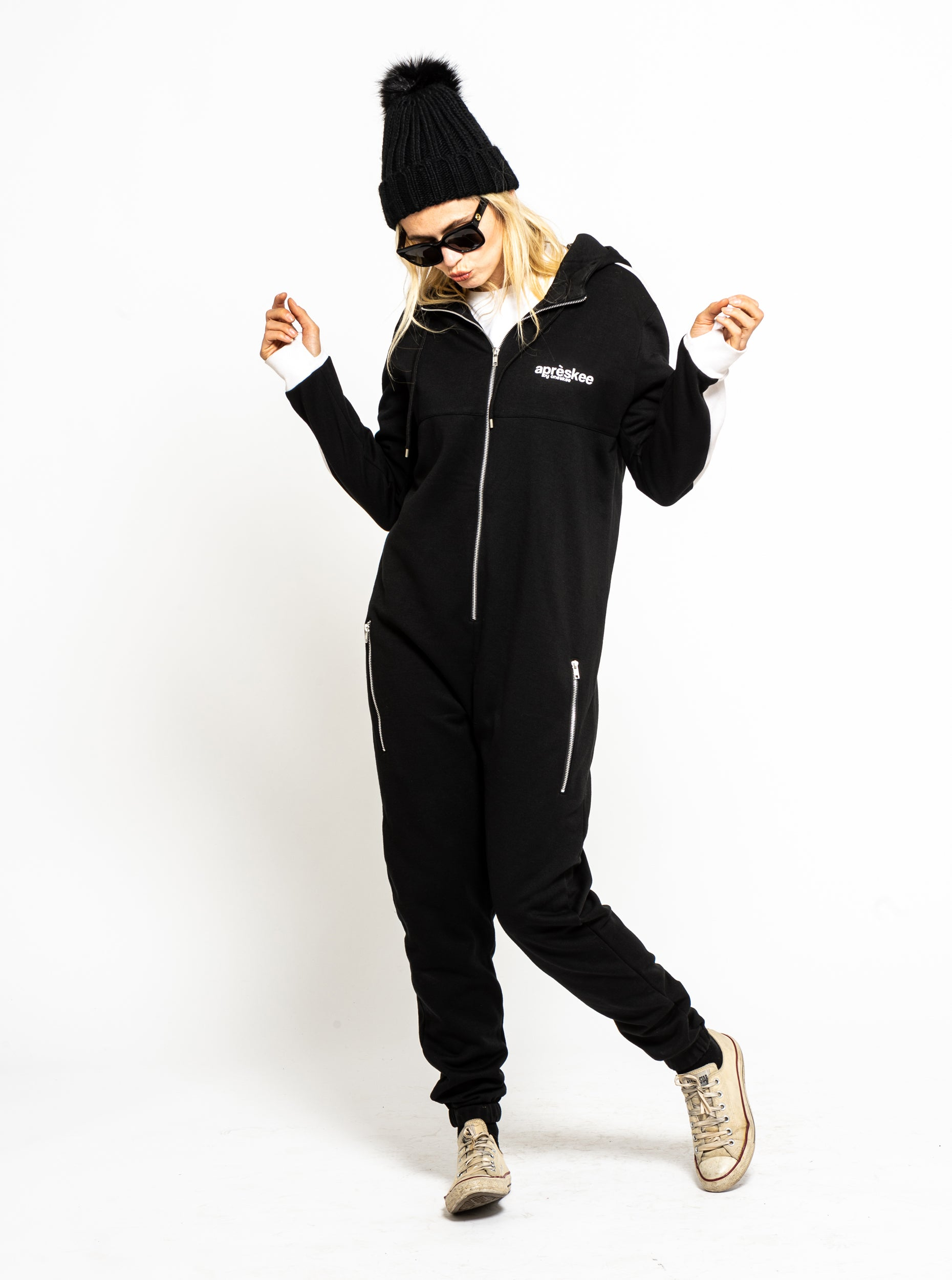 Apreskee One Piece Jumpsuit - Black image 4