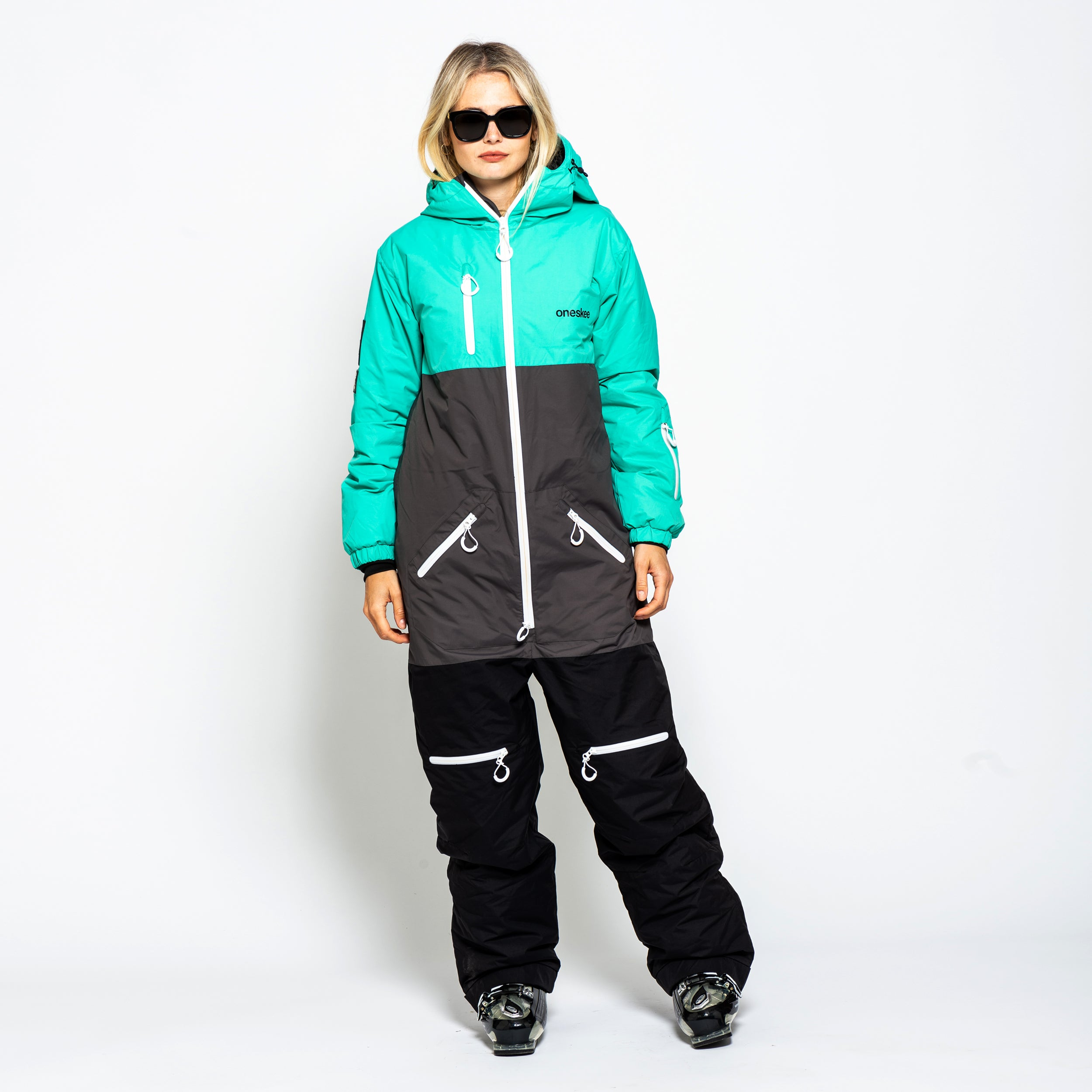 Women's Original Pro Suit - Mint/Black image 2