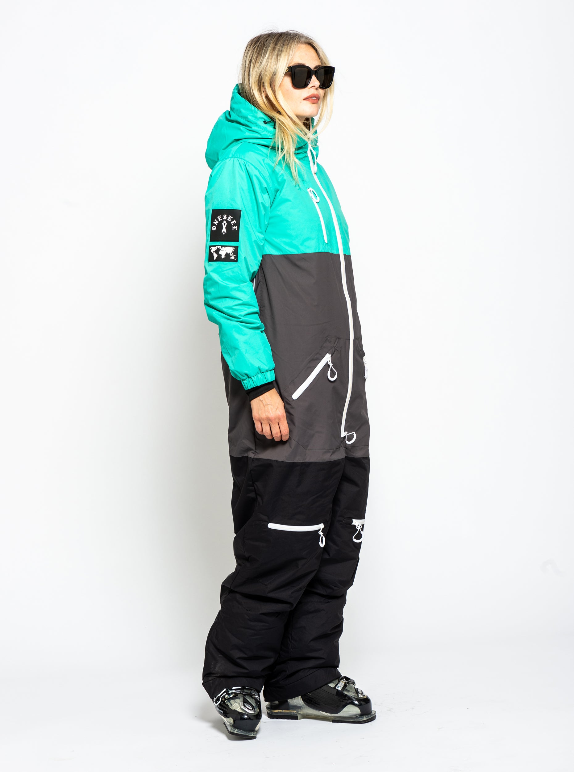 Women's Original Pro Suit - Mint/Black image 5