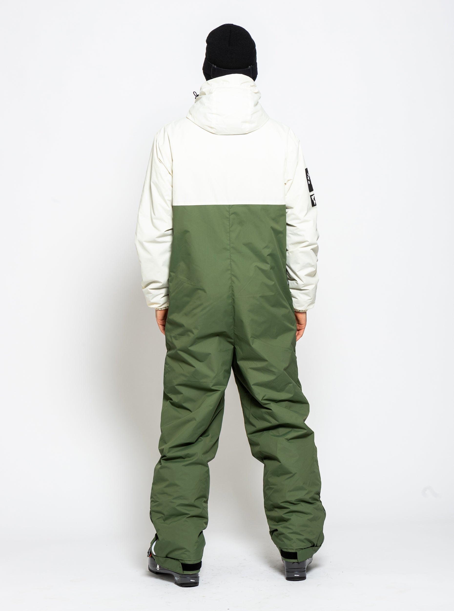 Men's Original Pro Suit - Olive/White image 6