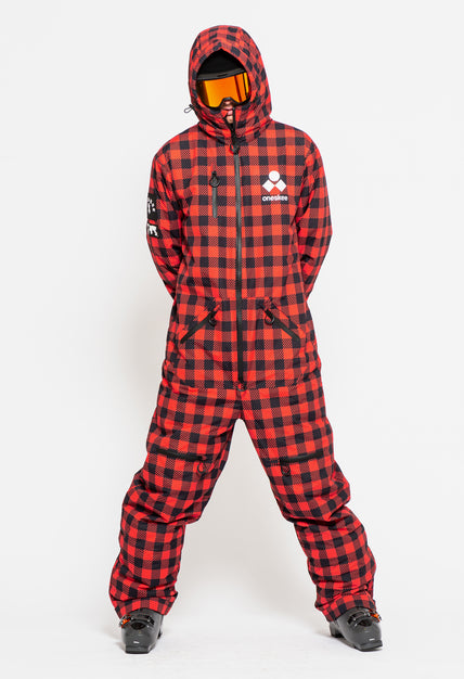 Men's Original Pro Suit - Red Plaid