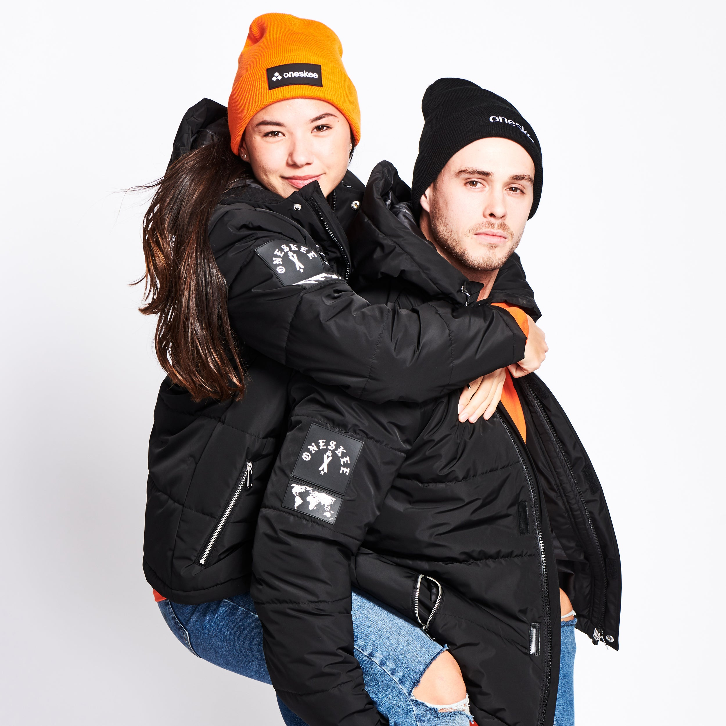 Technical Puffer Jacket - Black image 10