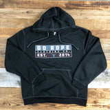 Men's Stamped Performance Transit Hoodie - Black