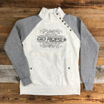 Women's Vintage Snap Front Pullover
