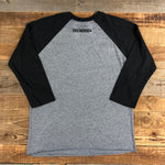 NEW Women's Aztec Raglan - Black/Gray