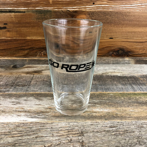 Go Rope Pint Glass